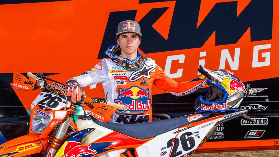 Josep García – Piloto del Red Bull KTM Factory Racing. Foto:
